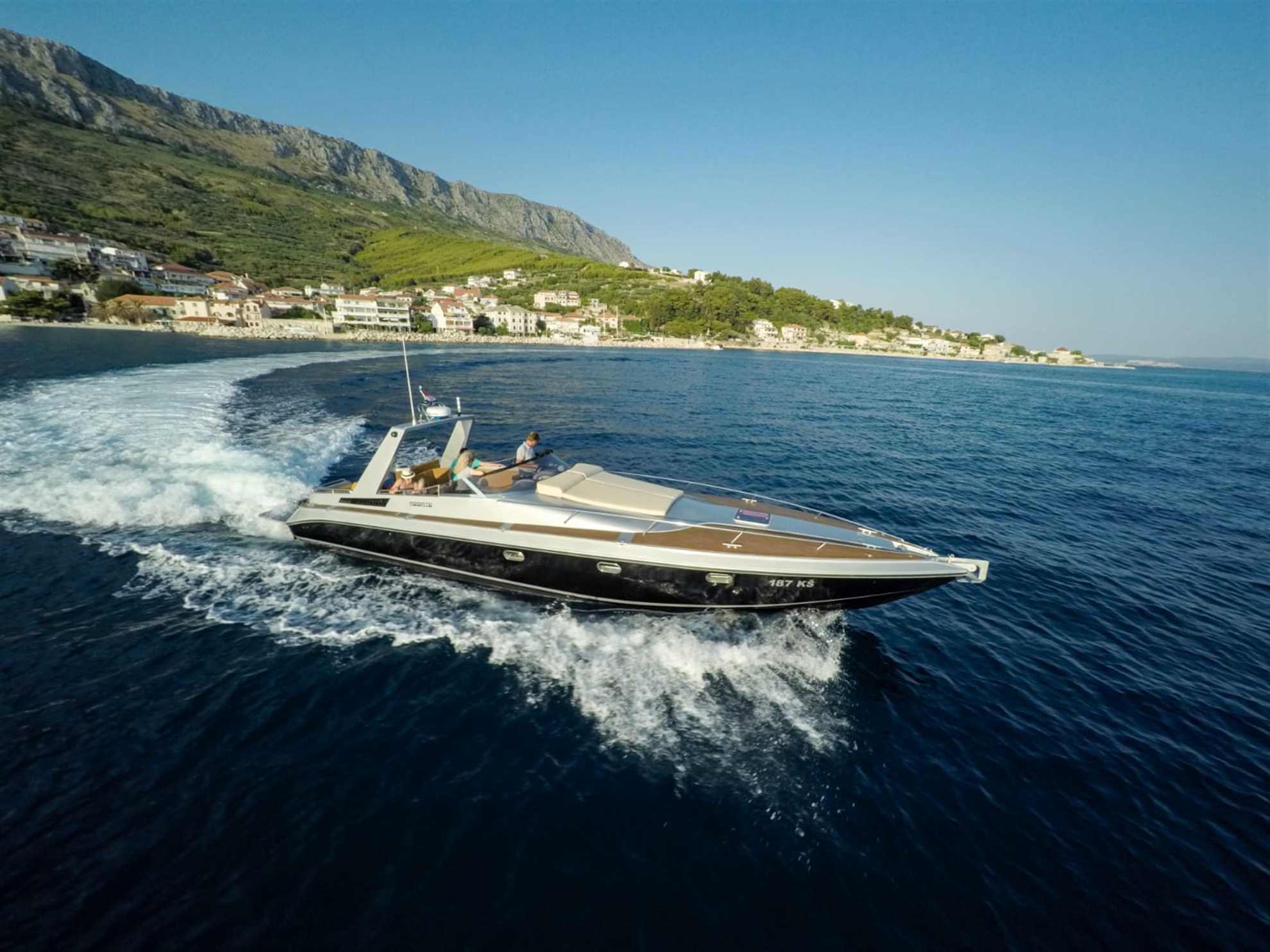 Luxury speedboat transfer Dalmatia
