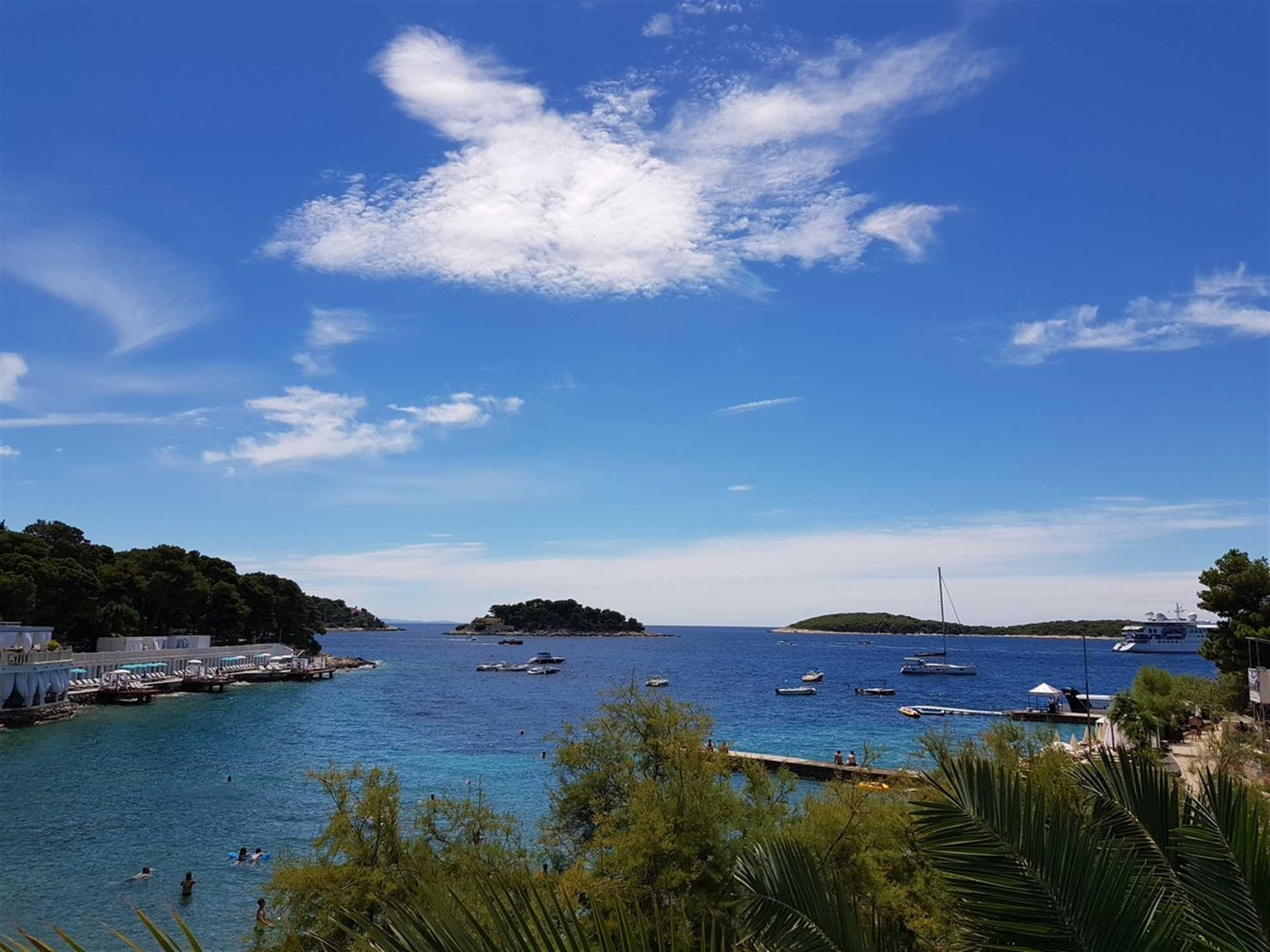 Bonj Beach in Hvar town , photo by VIP Holiday Booker