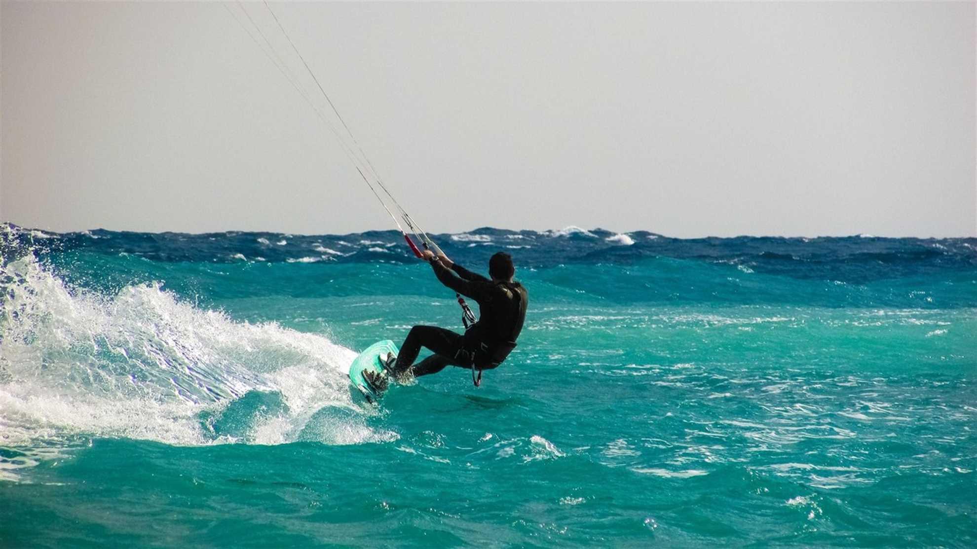 Kitesurfing in Bol