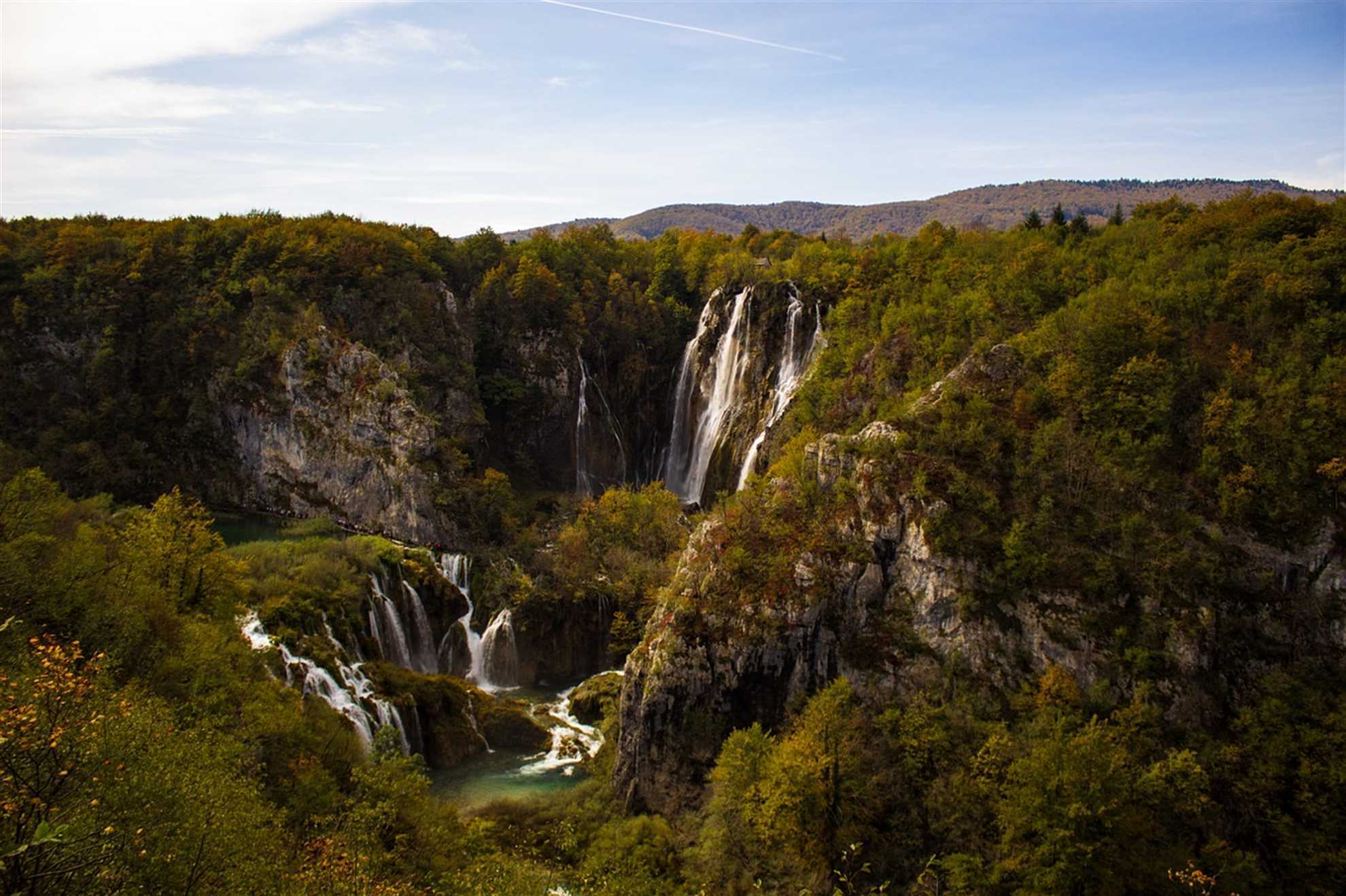 Plitvice Lakes  Great Waterfalls