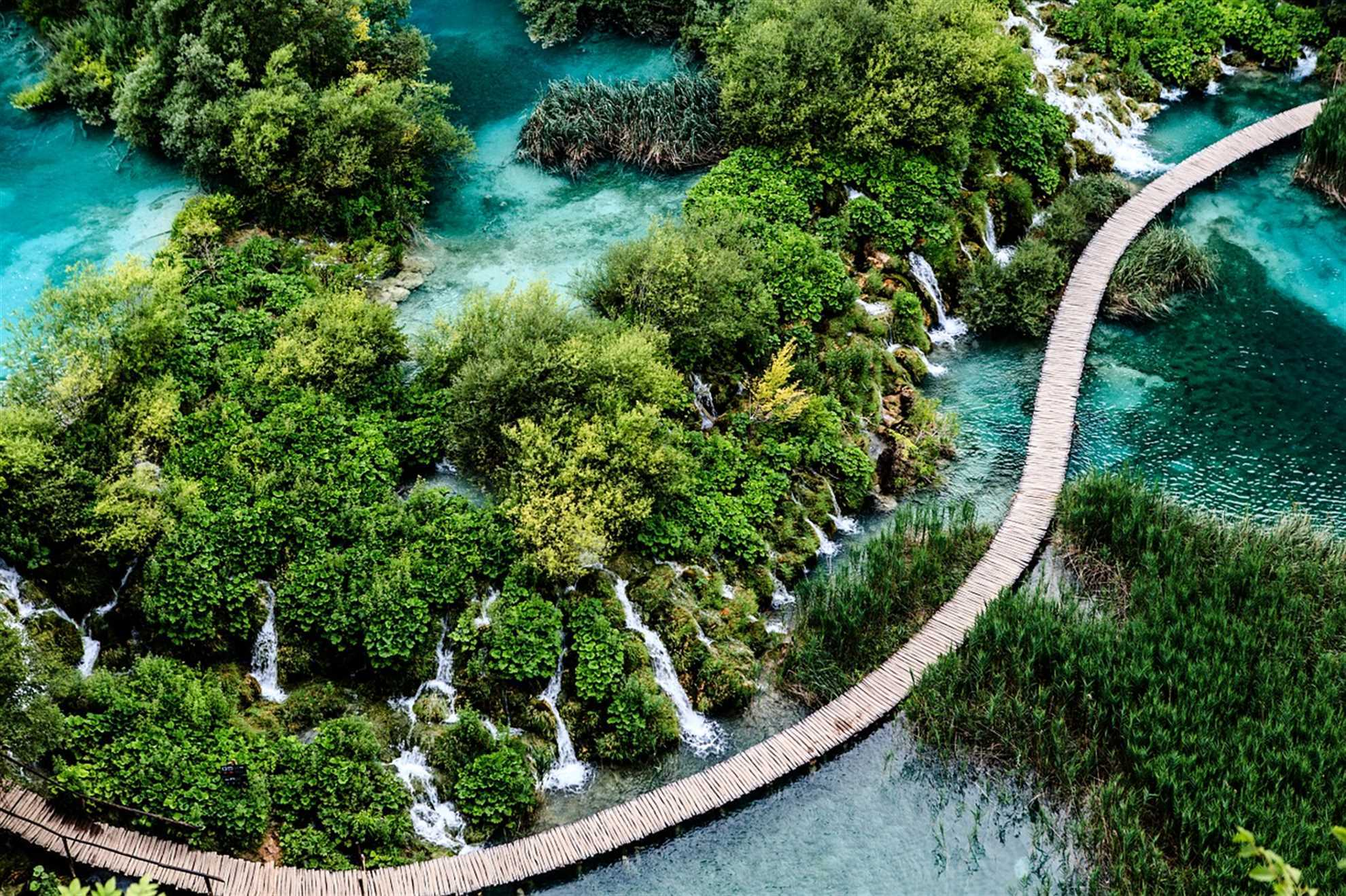 Plitvice Lakes Croatian national Park