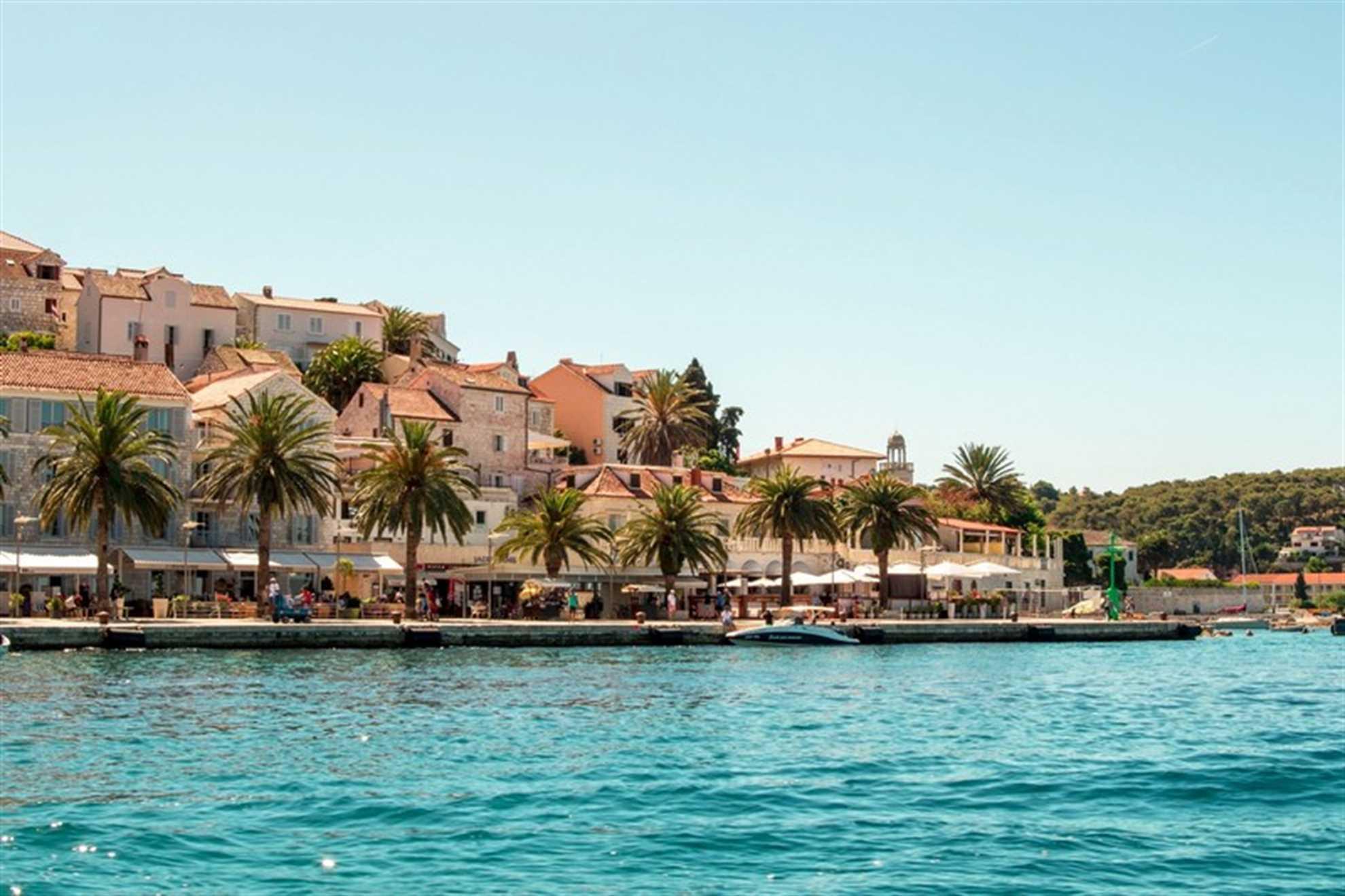 Hvar Town, Waterfront Promenade