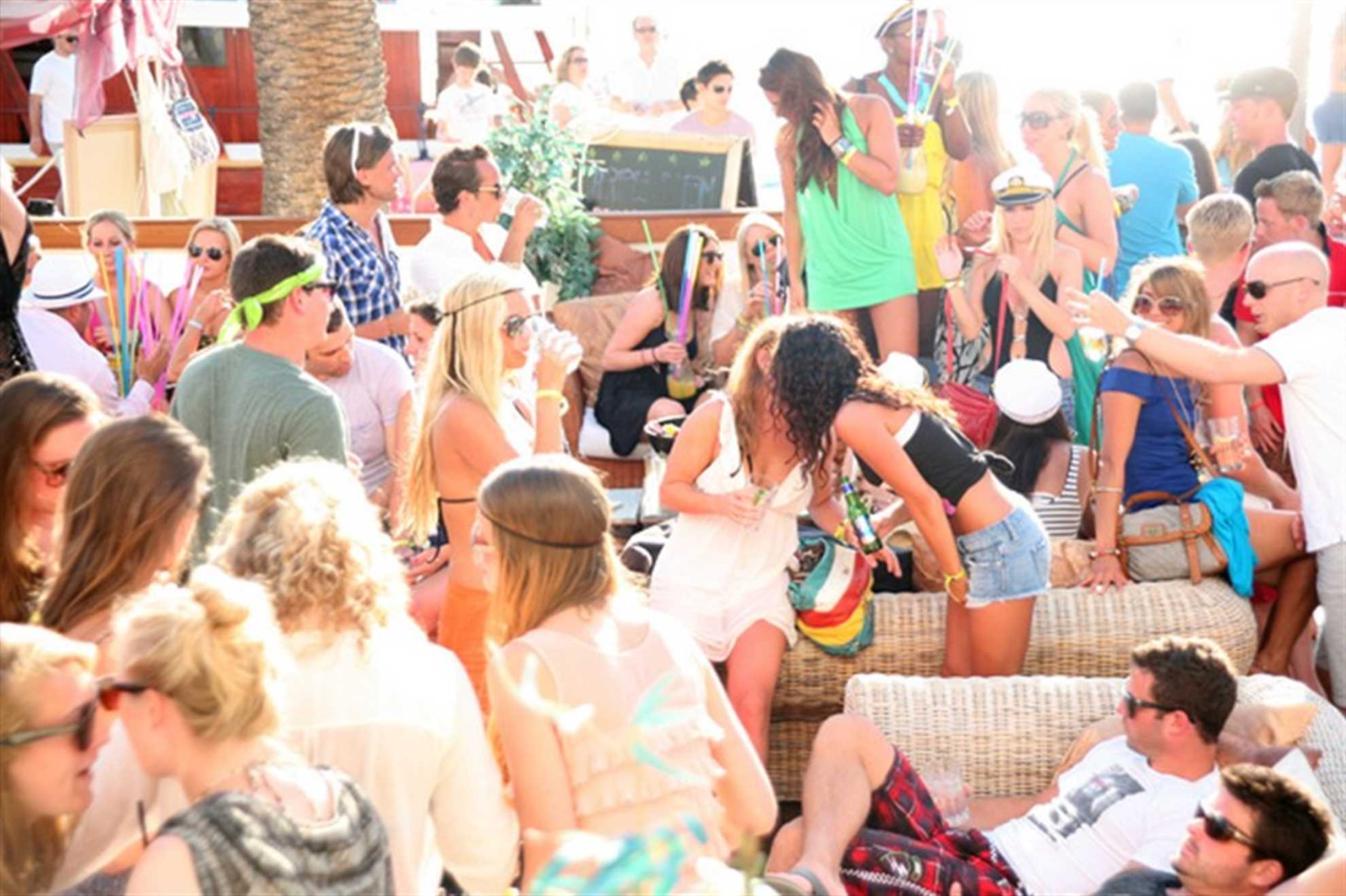 Beach Party at Carpe Diem Beach Bar Hvar