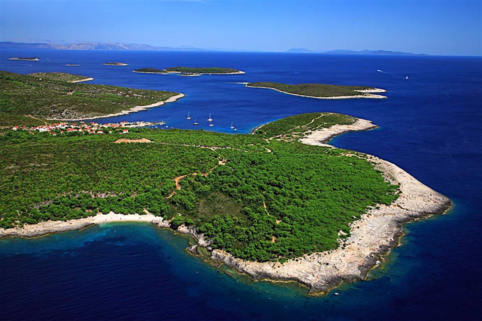 Island of Vis in Croatia