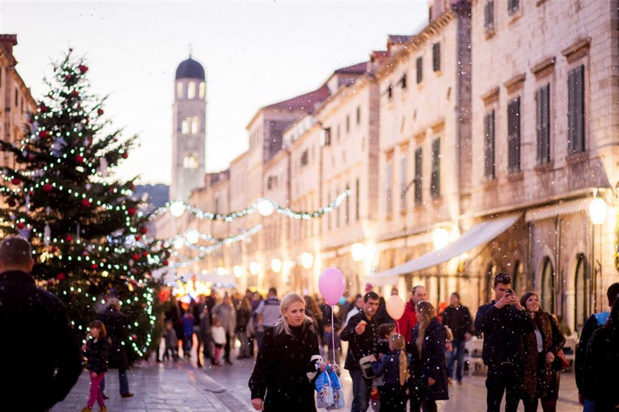 Christmas time in Dubrovnik, Stradun