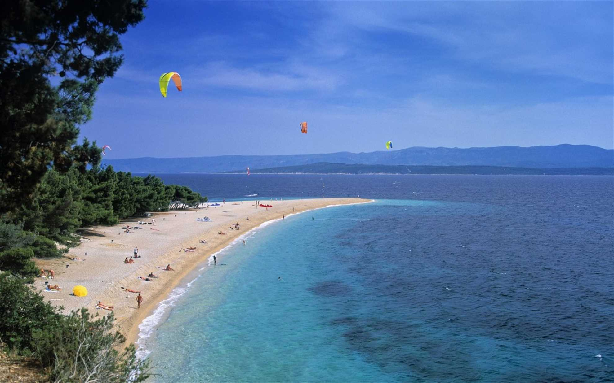 Golden Horn Beach is popular for windsurfing
