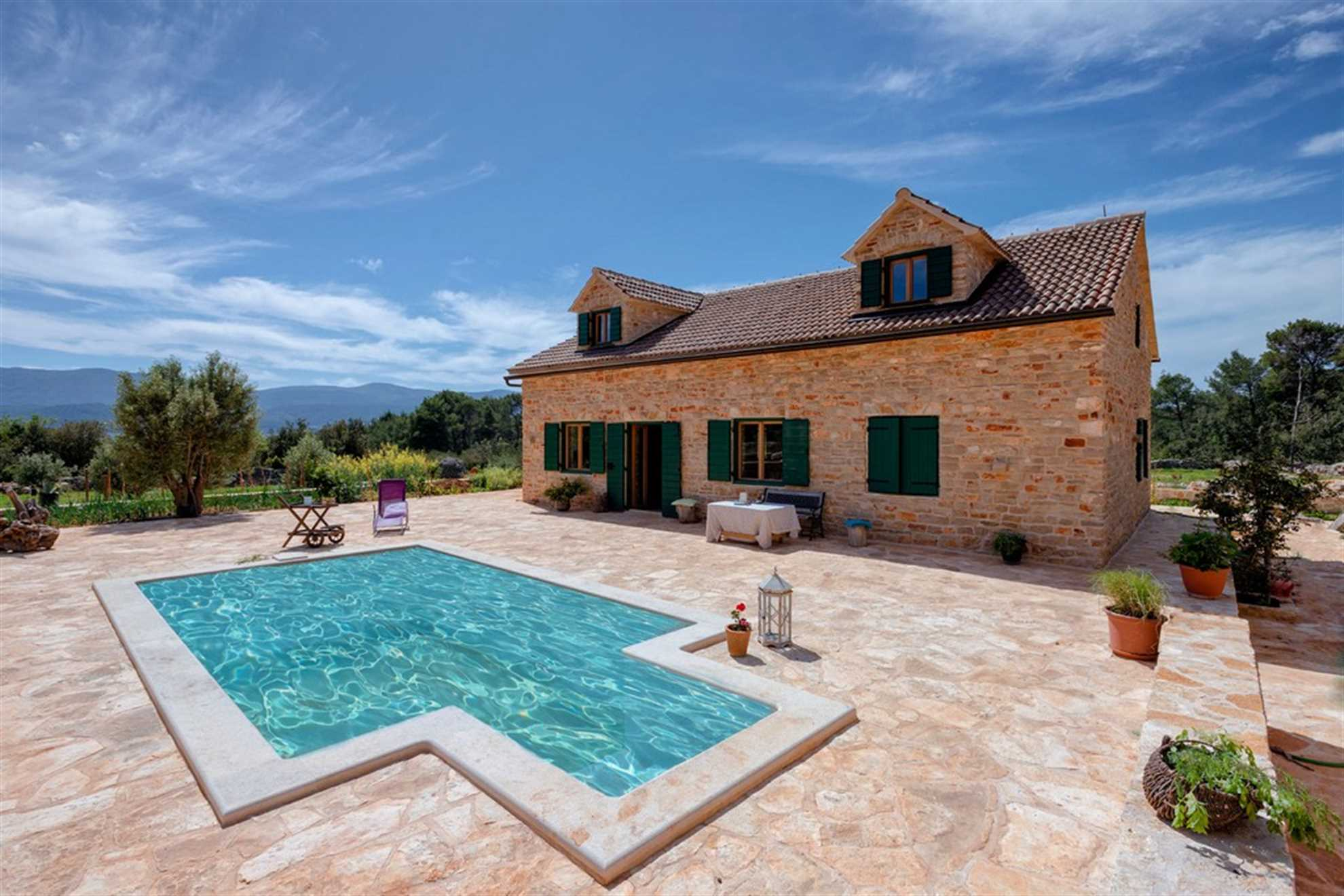 Villa Divina Palace with Pool on Hvar island