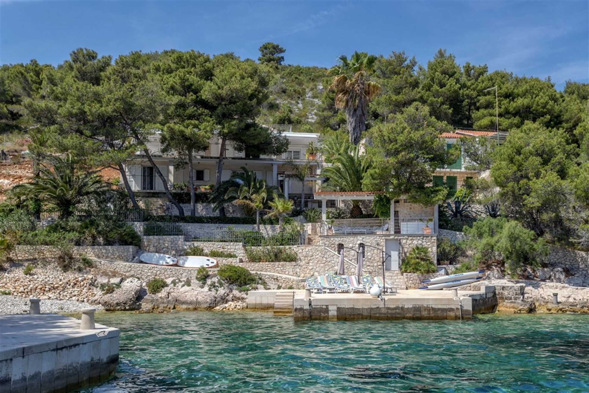 Beachfront Villa Pure Life i Hvar