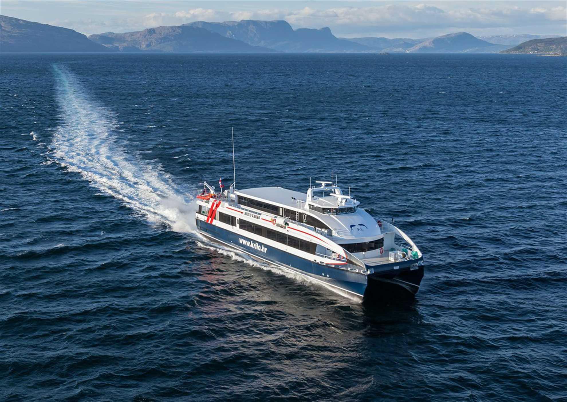 Fast ferry Catamaran Kapetan Luka
