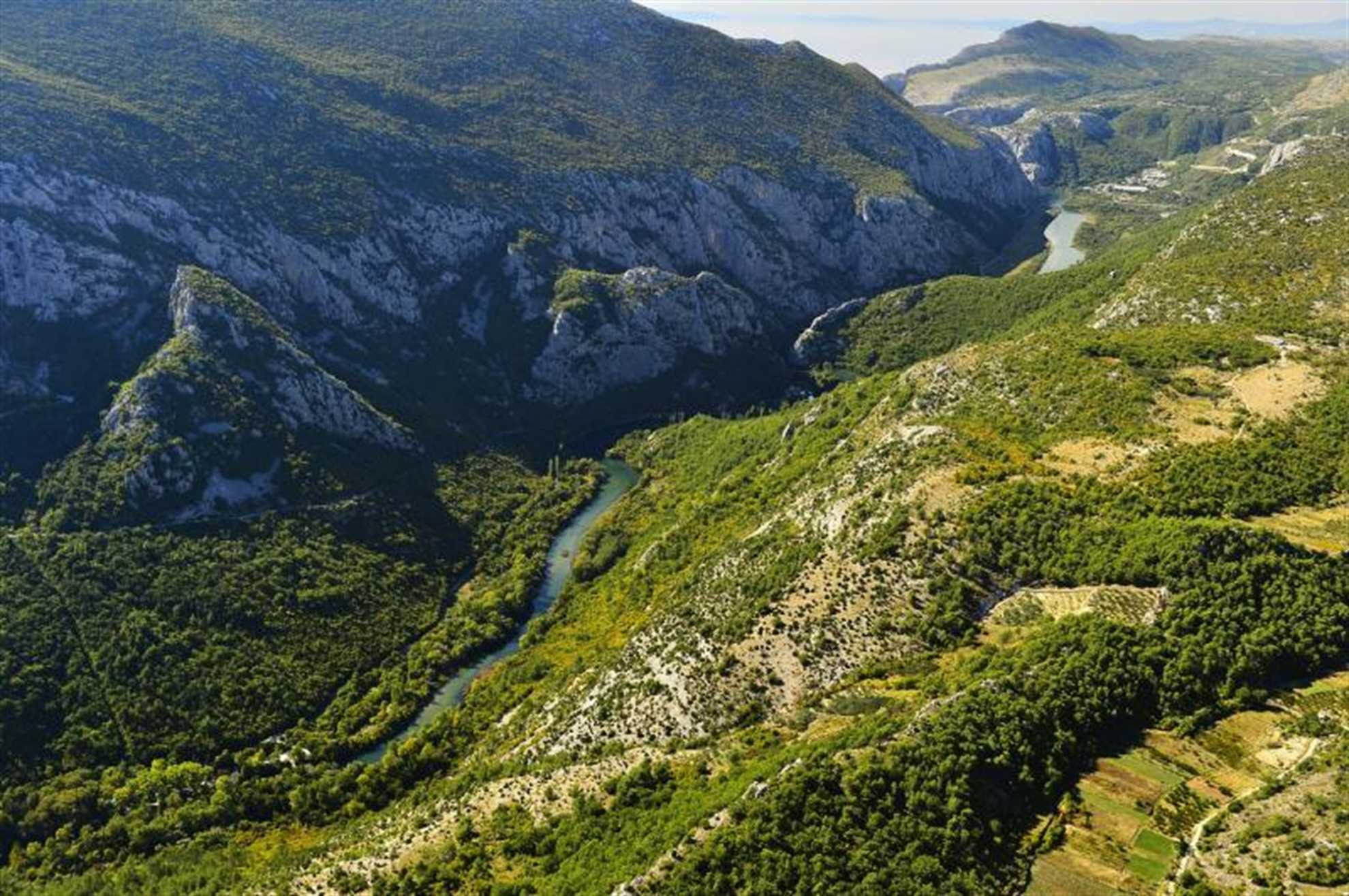Cetina River Canyon