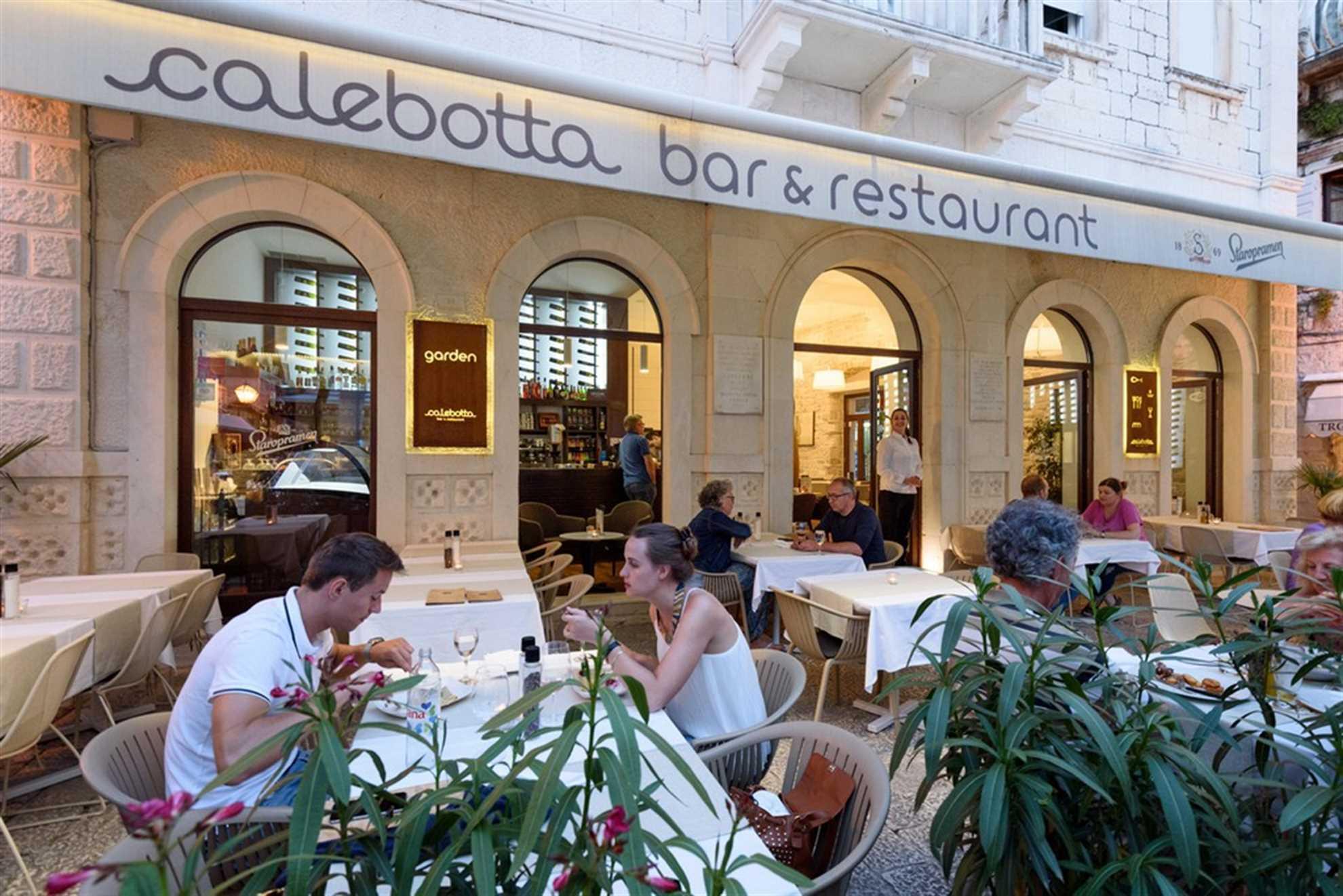 Restaurant Calebotta in Trogir