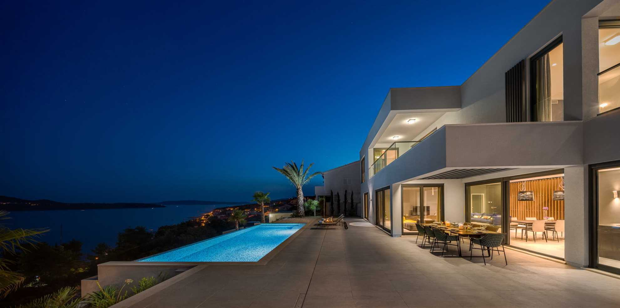 Ultraluxury Villa Elyzeum with Heated Pool in Trogir area