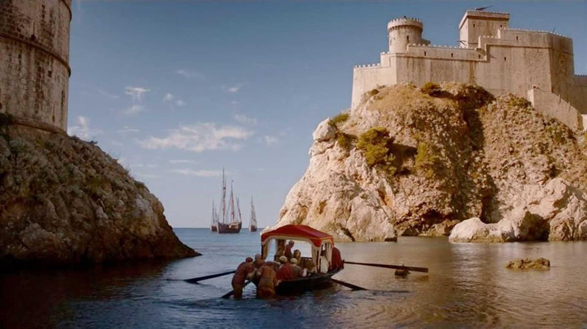 Dubrovnik as Kings Landing