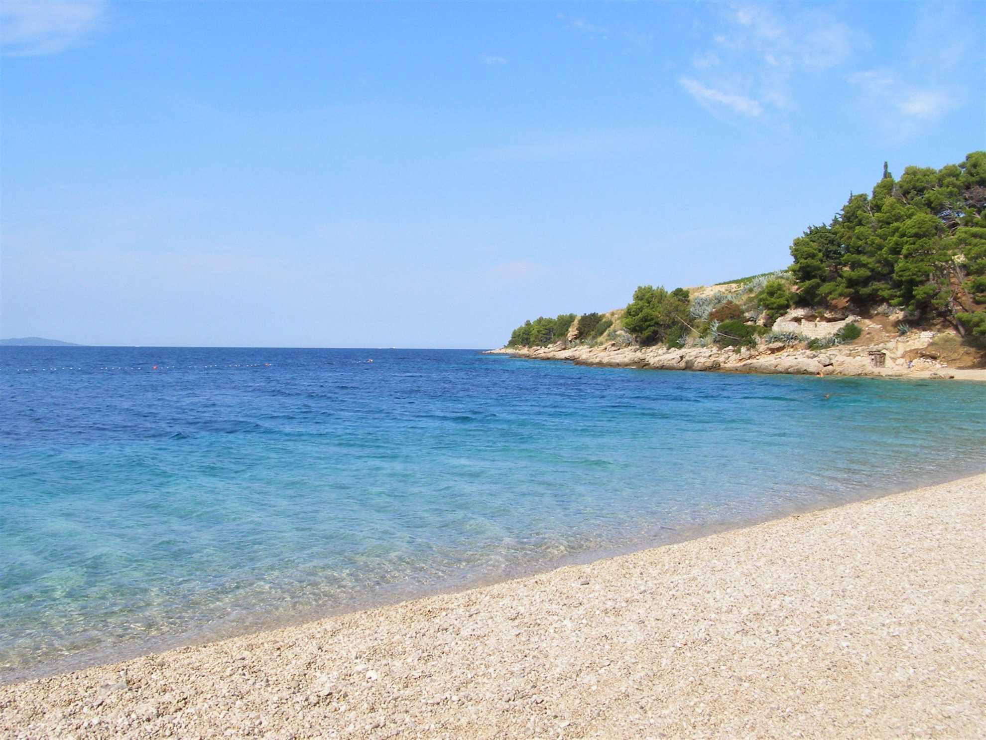 Beach Murvica Brac Island