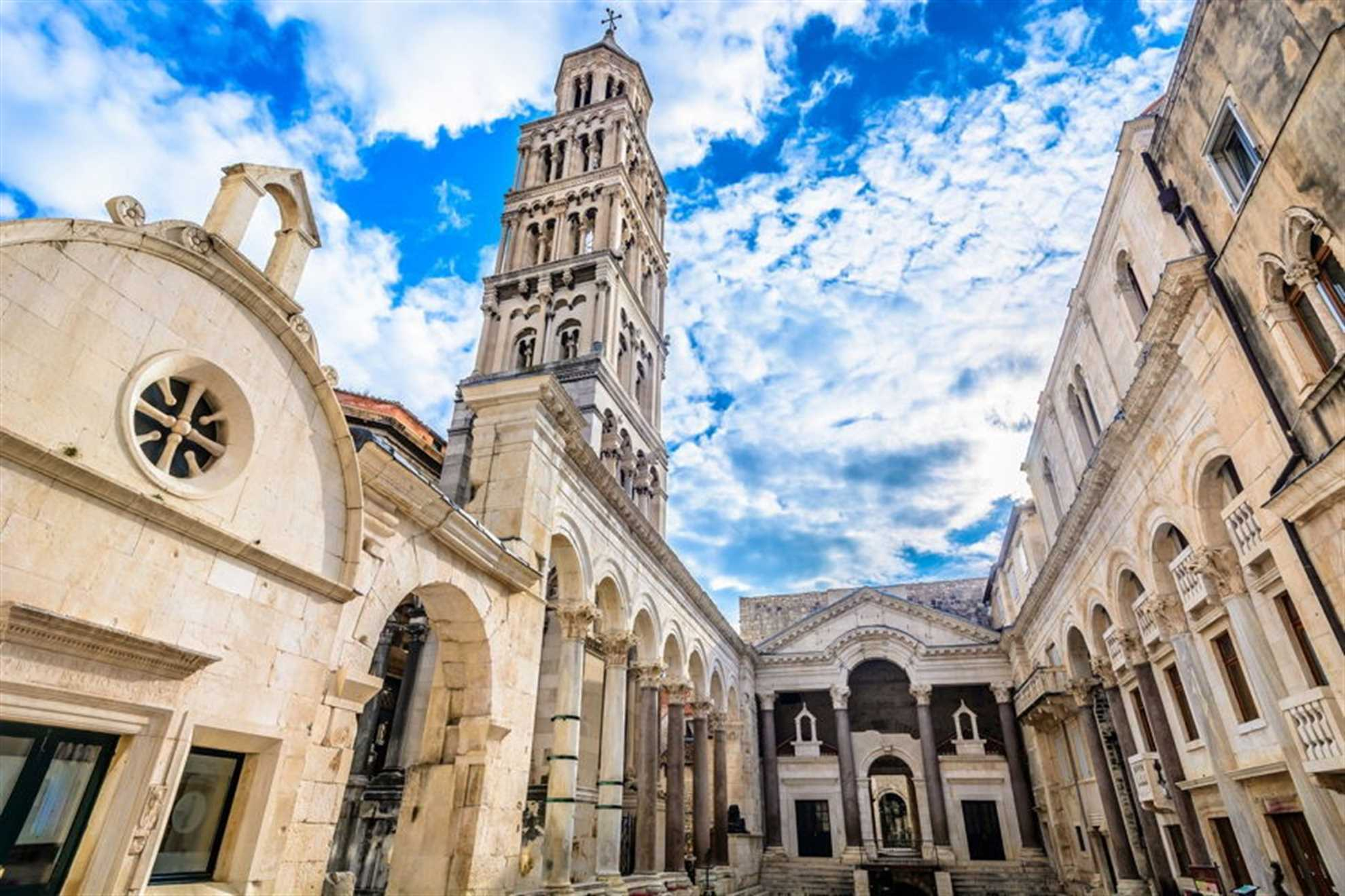Diocletians Palace in Split