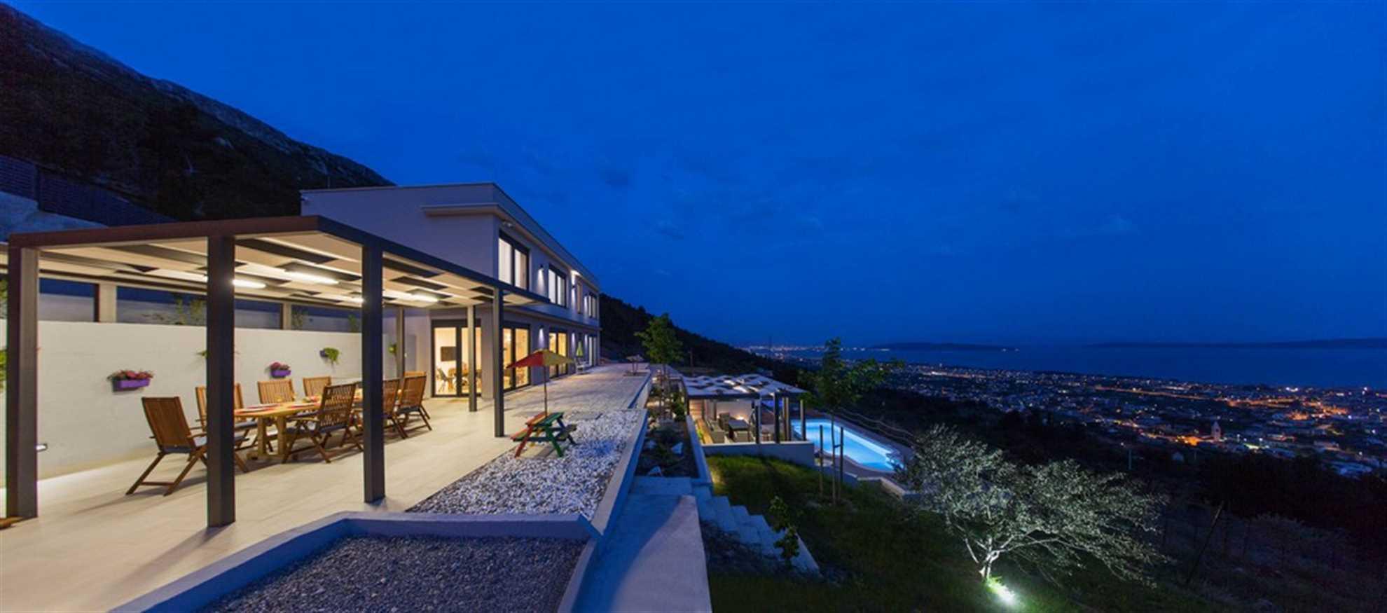 Villa Grand View near Split