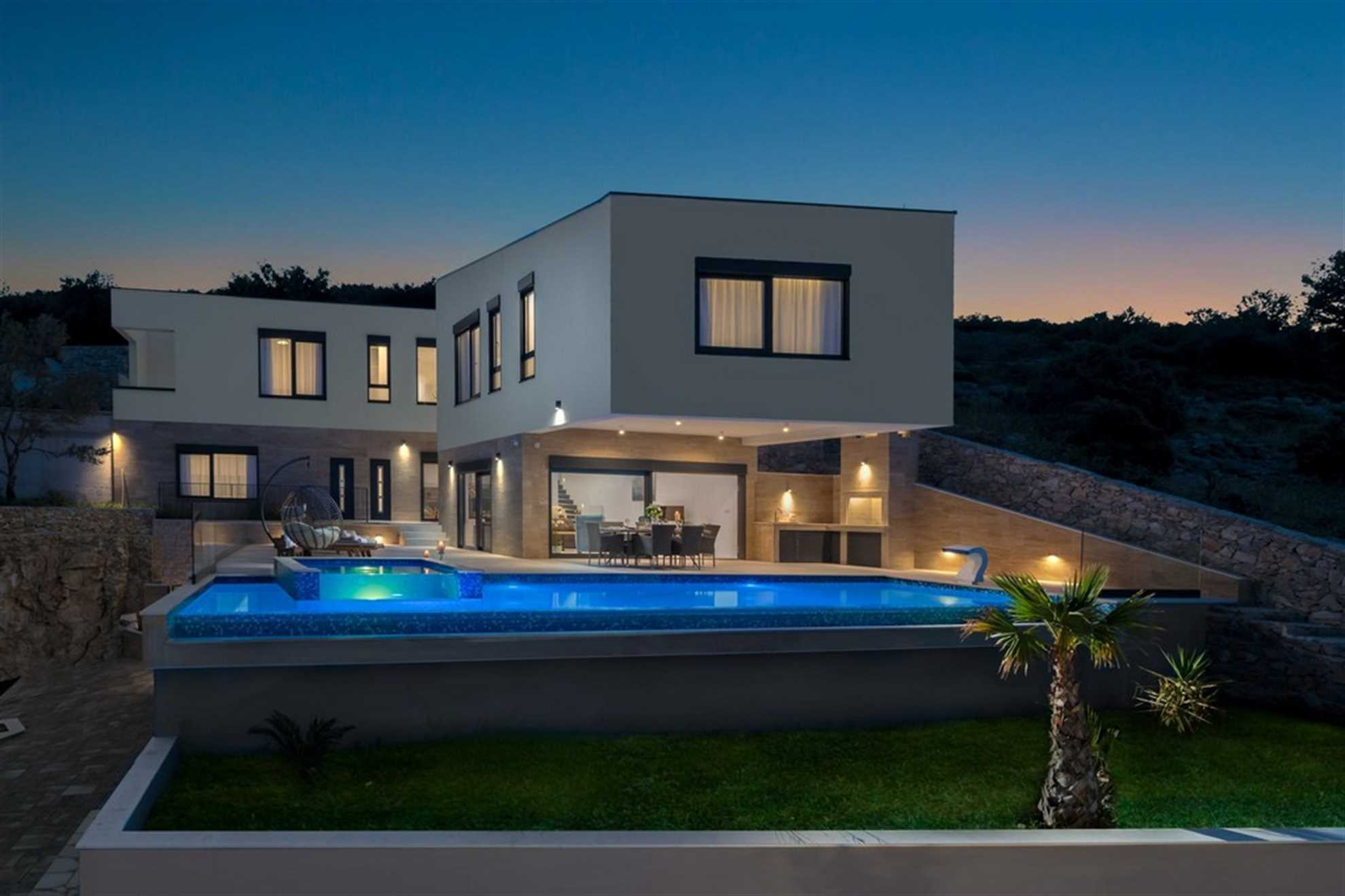Villa Gold Pearl near Trogir