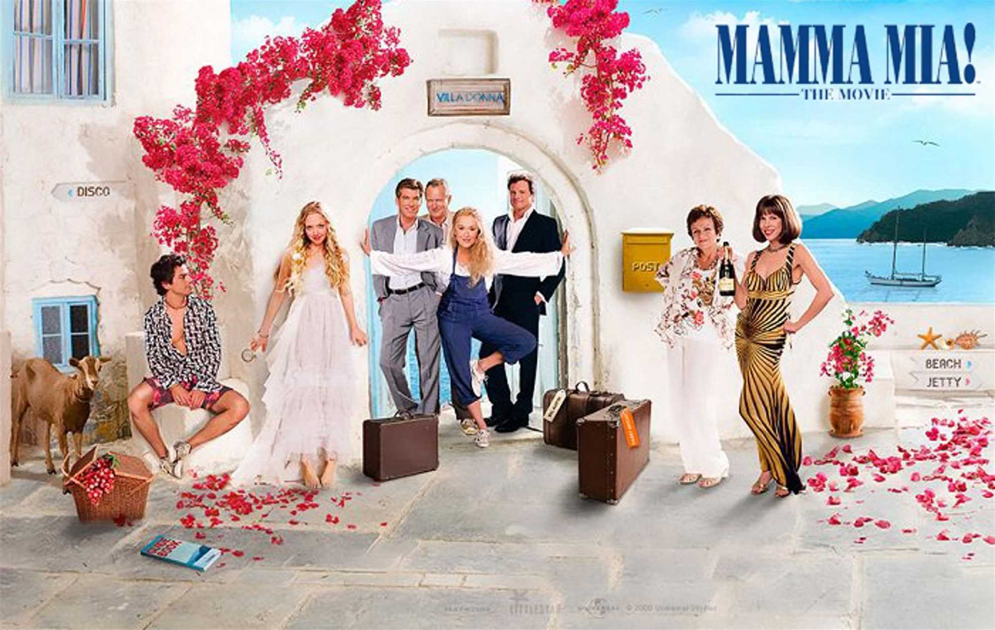 Mamma Mia 2008 Wallpaper