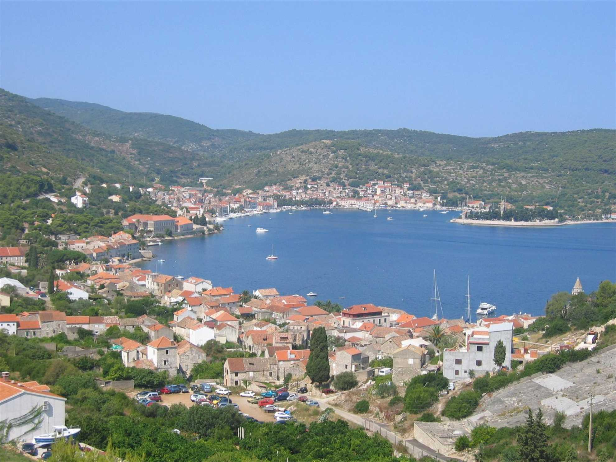 Insel Vis, Dalmatien, Kroatien