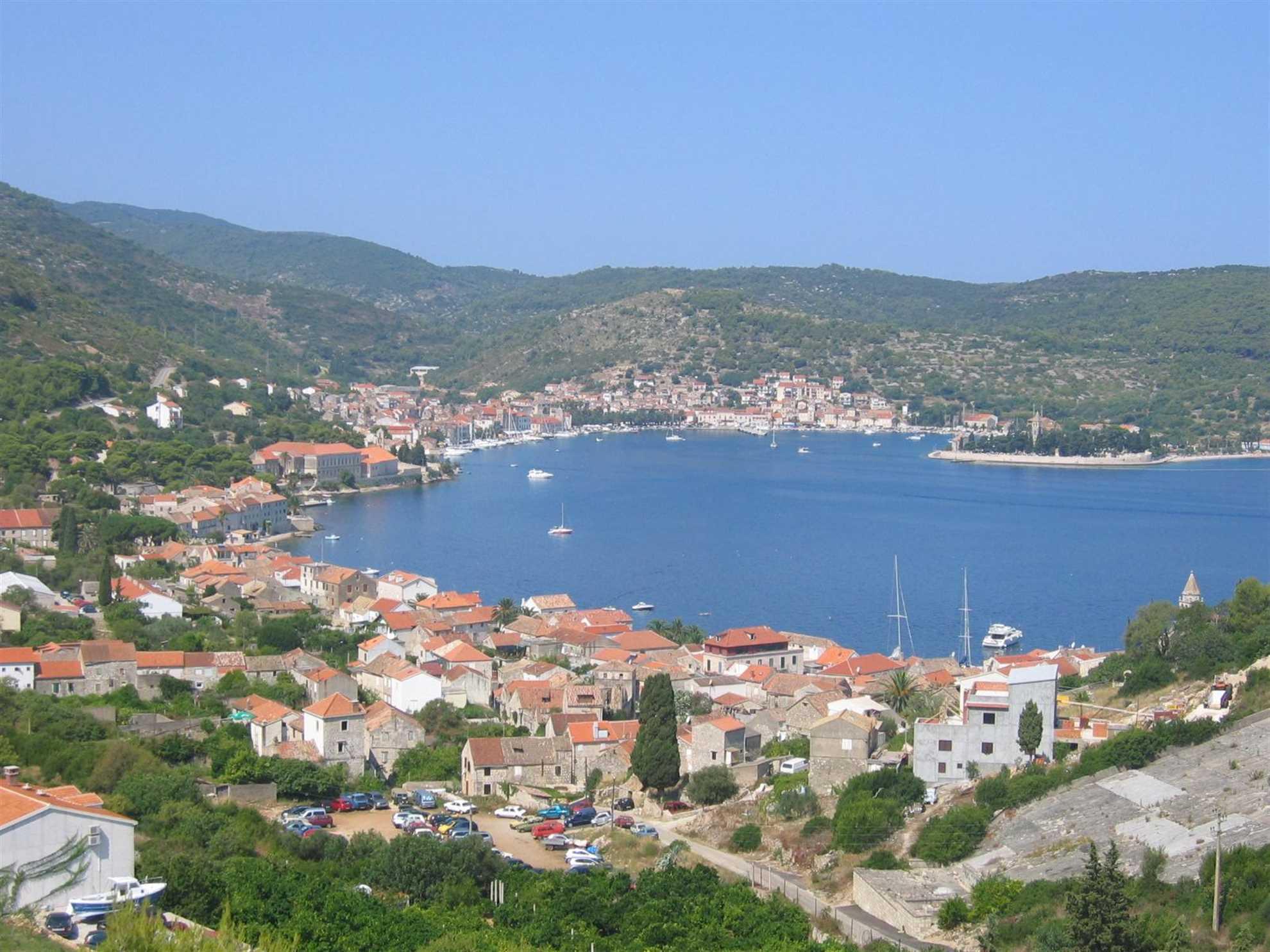 Island Vis, Dalmatia, Croatia