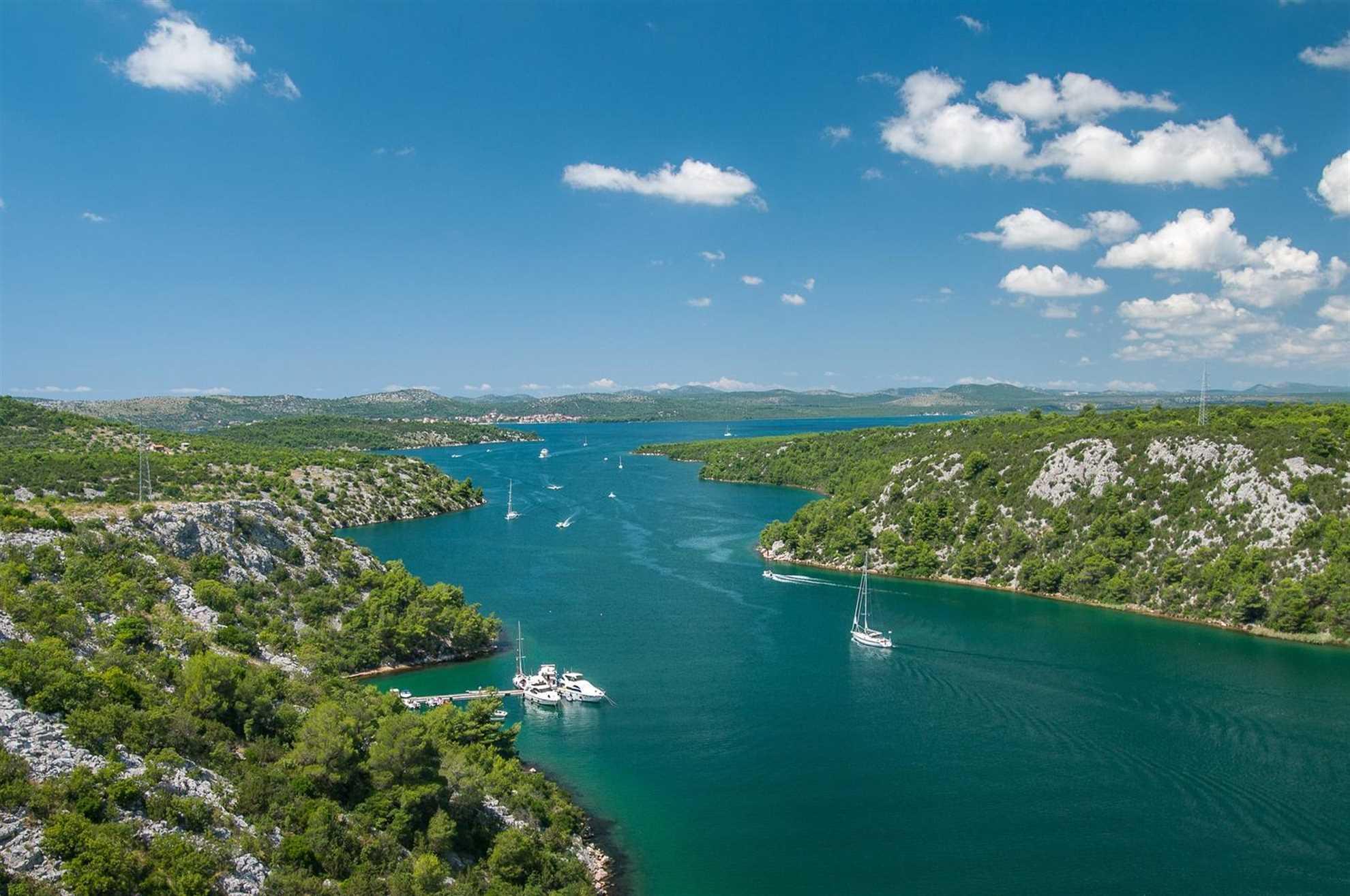 Elven Krka, Sentral-Dalmatia