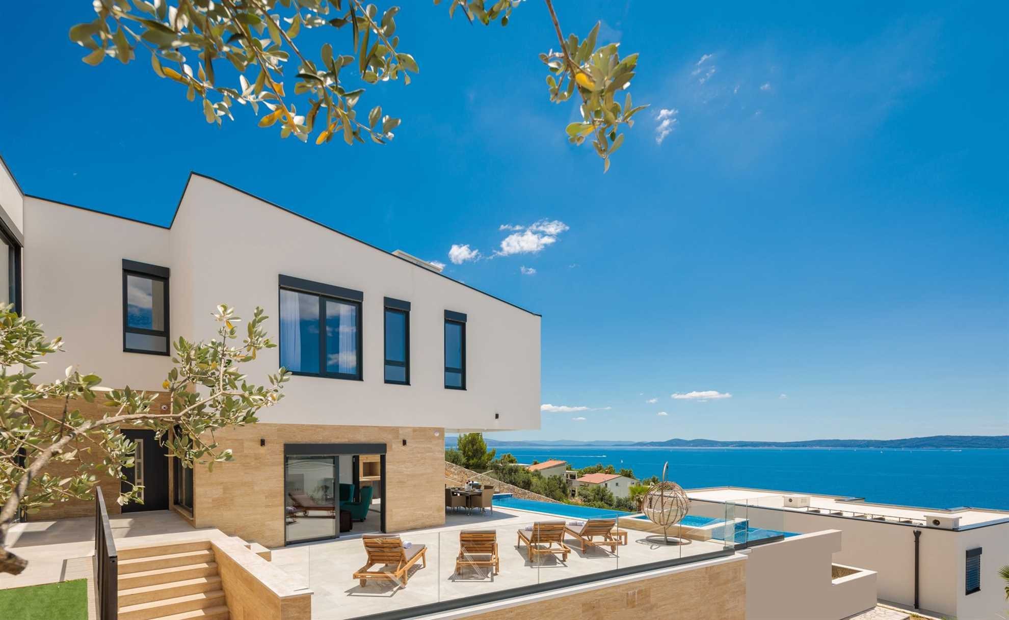 panorama from the Trogir Pearl Villas Resort_VIP Holiday Booker